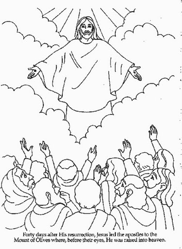 return of jesus coloring pages - photo#22
